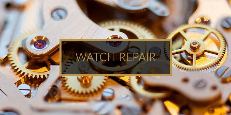Image Showing Watch Repair Services Button