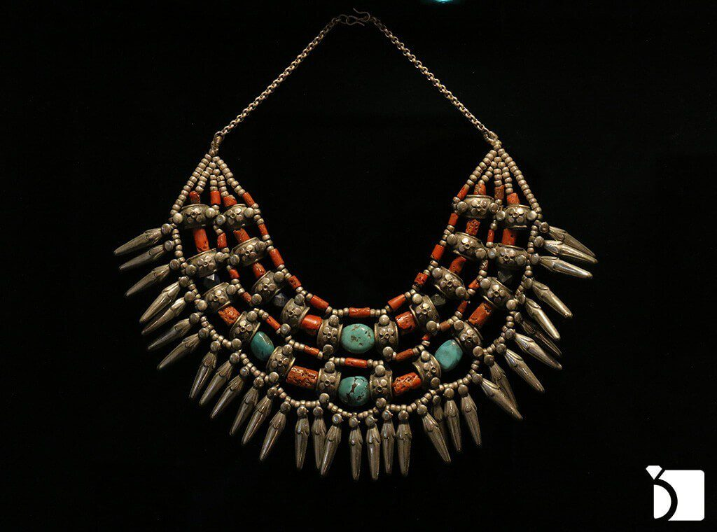 Image showing some of the oldest bedouin jewelry in the world