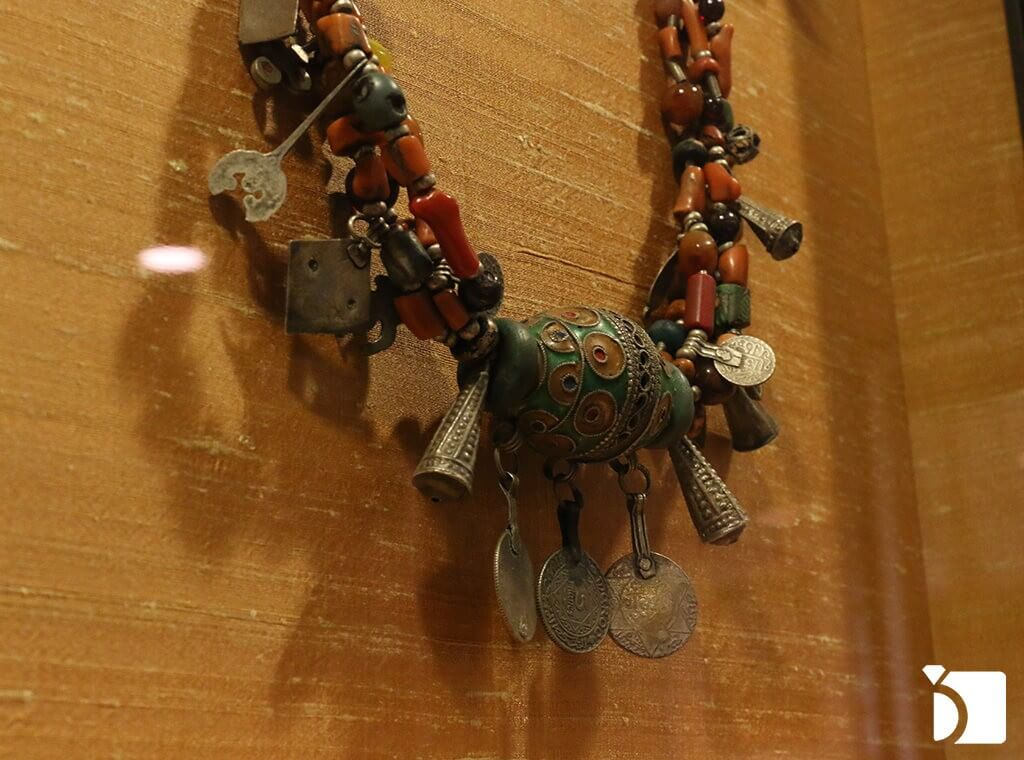 Image showing some of the oldest jewelry in the world from Morocco