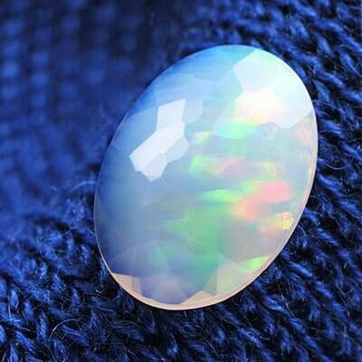 image showing opal birthstone