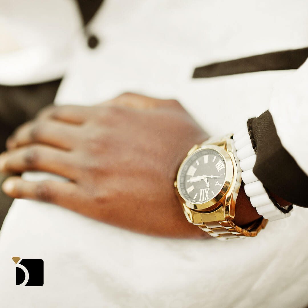 Image showing hip hop bling watch