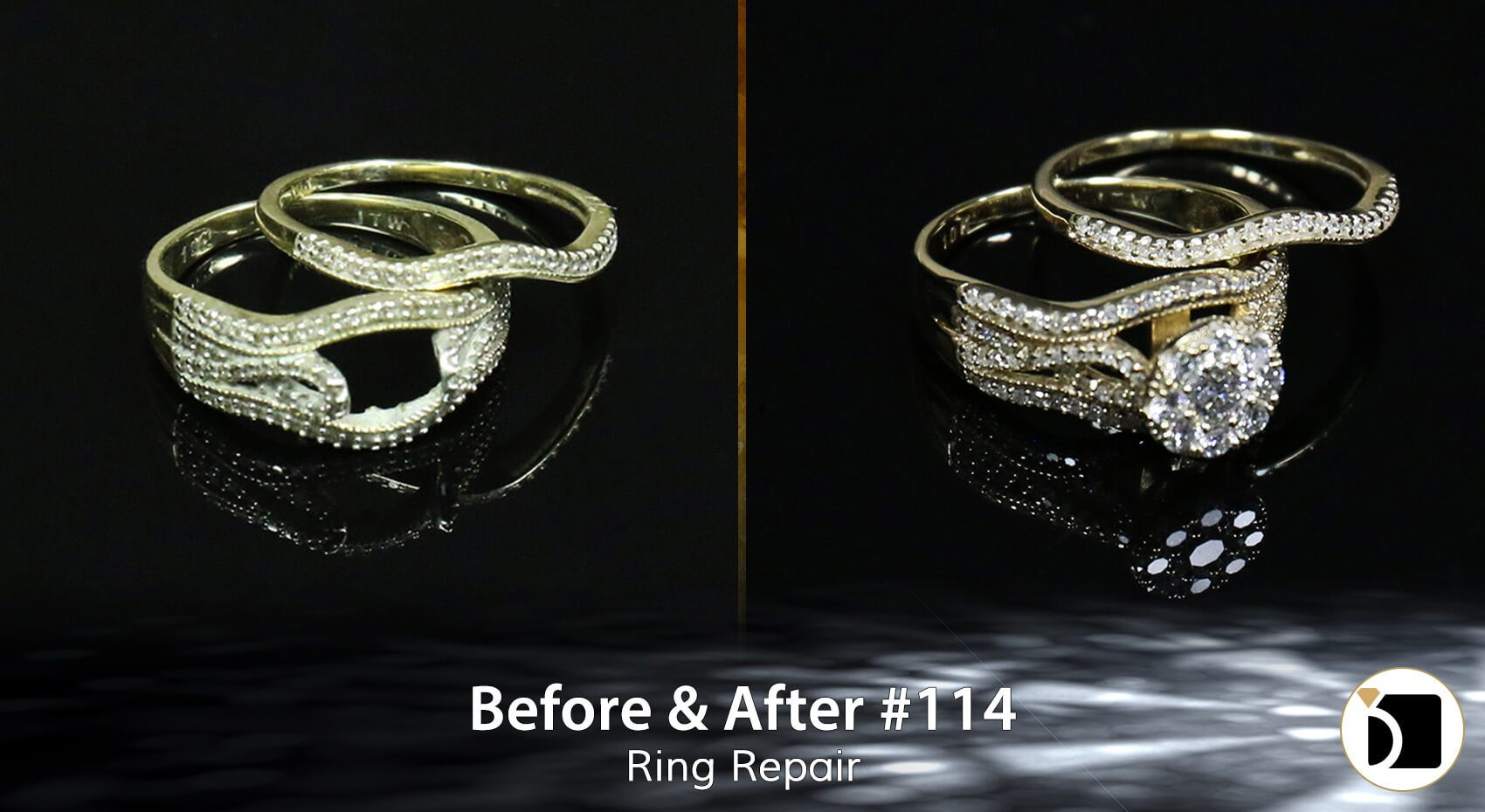 Image Showcasing a ring repair
