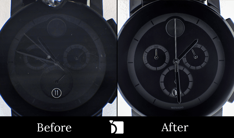 Image showing Movado Watch Repair Before & After Example