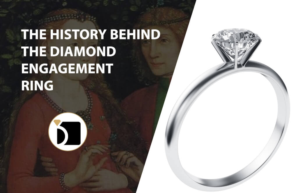 The History Behind The Diamond Engagement Ring