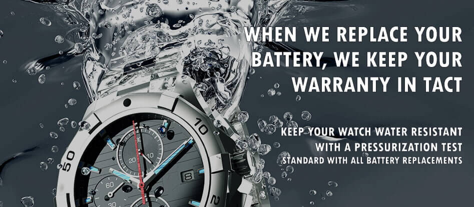 Replace your watch battery