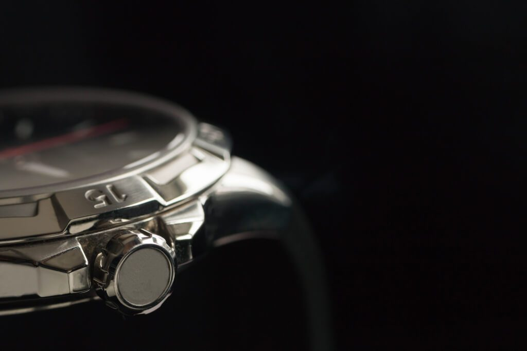 Luxury man accessory watch detail