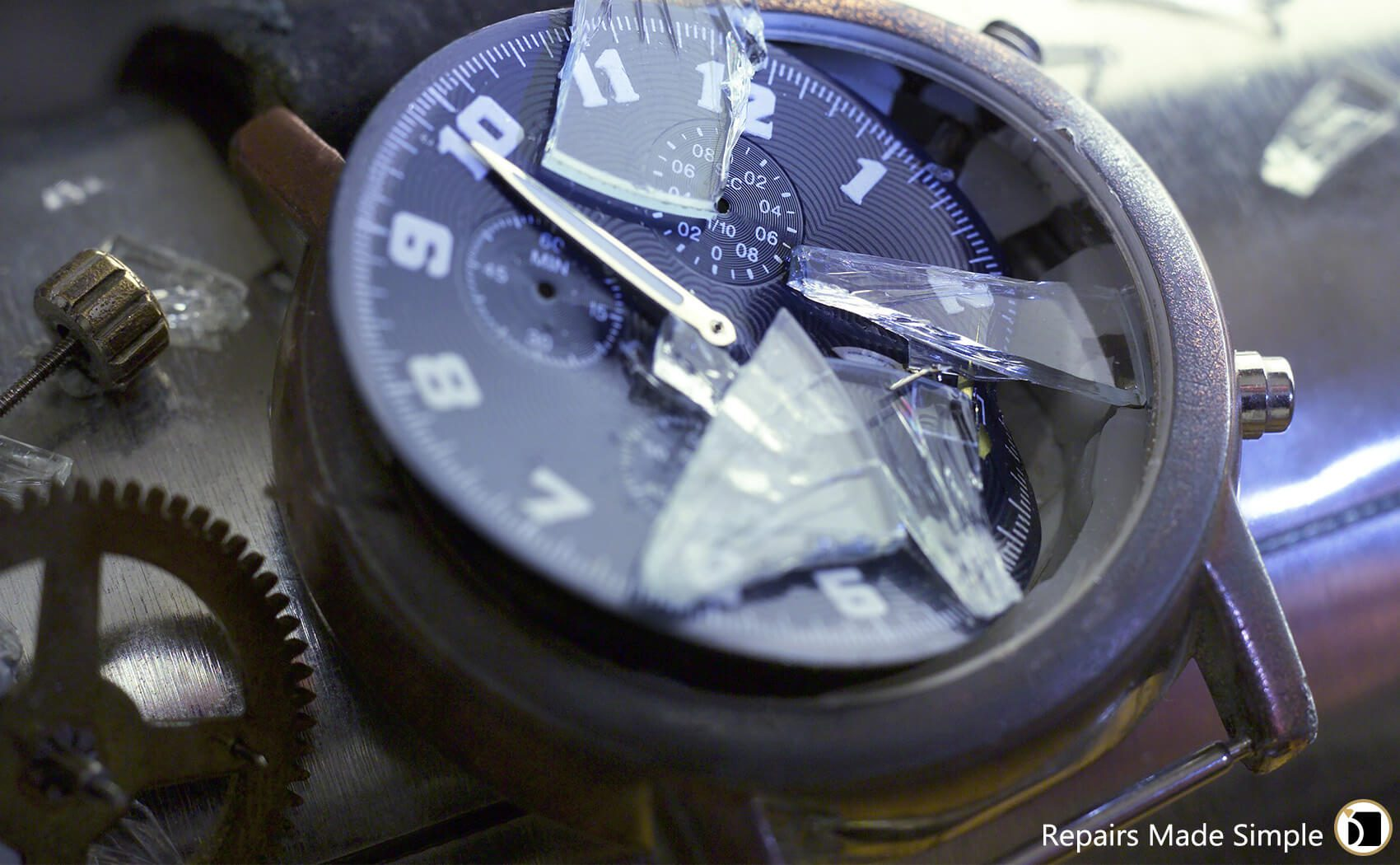 Watch Glass Repair