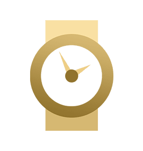 Image Showing Online Watch Repair by Mail Icon