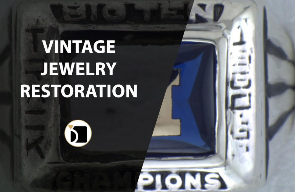 Vintage Jewelry Restoration Example